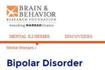 BrainBehaviorResearchFoundationBipolarDisorder