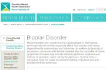 CanadianMentalHealthAssociationBipolarDisorder