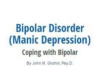Leading Sites on Bipolar Disorder & Depression