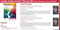 Couple, Family and Sex Therapy 2014