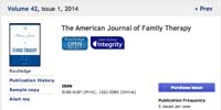 The American Journal of Family Therapy
