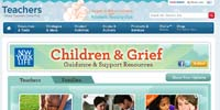 Scholastic children's grief resources