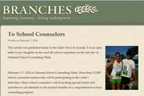 Branches - To School Counselors