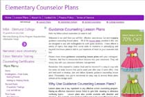 Elementary Counselor Plans