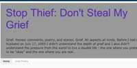 Stop Thief: Don't Steal My Grief